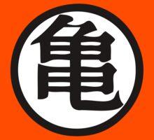Dragon Ball Z Master Roshi Turtle kanji by vintage-shirts