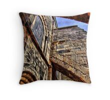 Flying Buttresses Throw Pillow