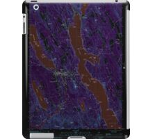 Maine USGS Historical Map Bridgton 104965 2000 24000 Inversion iPad Case/Skin