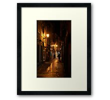 After the rain stopped Framed Print
