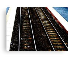THE LINE Canvas Print
