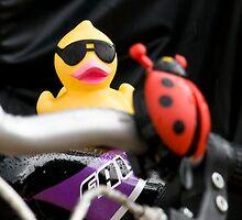 Biker duck by Nala