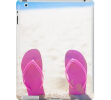 Seaside Holiday Concept With Copyspace iPad Case/Skin