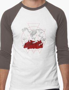 Spirit of Plague Men's Baseball ¾ T-Shirt