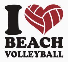 I love Beachvolleyball Kids Clothes