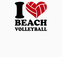 I love Beachvolleyball Womens Fitted T-Shirt