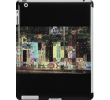 SUPERBOWL halftime, beach girls, abstract pixel art, flipped photo iPad Case/Skin
