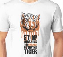 White Tiger Fraud (For Light Backgrounds) Unisex T-Shirt