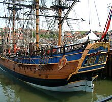 The Grand Turk at Whitby by dougie1