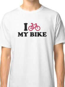 I love my bike Bicycle Classic T-Shirt