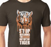 White Tiger Fraud (For Dark Backgrounds) Unisex T-Shirt