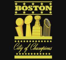 Boston - City of Champions (Gold) T-Shirt