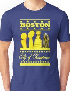 Boston - City of Champions (Gold) Unisex T-Shirt