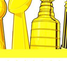 Boston - City of Champions (Gold) Sticker