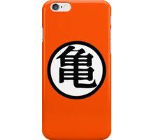 Dragon Ball Z Master Roshi Turtle kanji iPhone Case/Skin