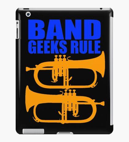 BAND GEEKS RULE-FLUGELHORN iPad Case/Skin