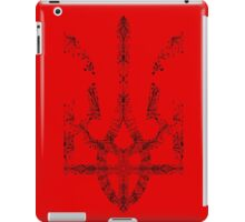 Pray For Ukraine - Ukrainian Trident Coat of Arms iPad Case/Skin