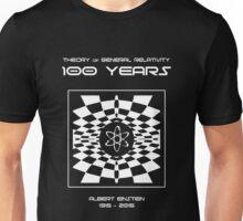 Warped Space Version, 100 Year Anniversary of Einstein's Theory of General Relativity Unisex T-Shirt