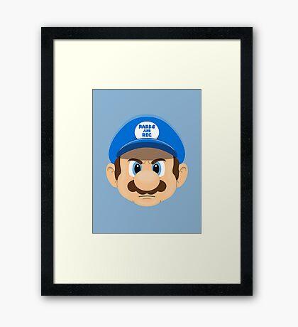 Super Ron Framed Print