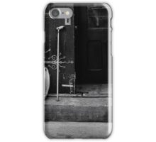 Life blends into the Street iPhone Case/Skin