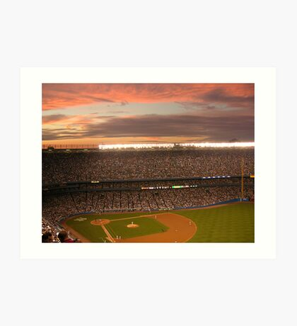 Yankee Sunset Art Print