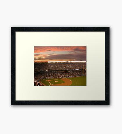 Yankee Sunset Framed Print