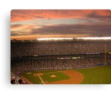 Yankee Sunset Canvas Print