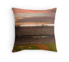 Yankee Sunset Throw Pillow