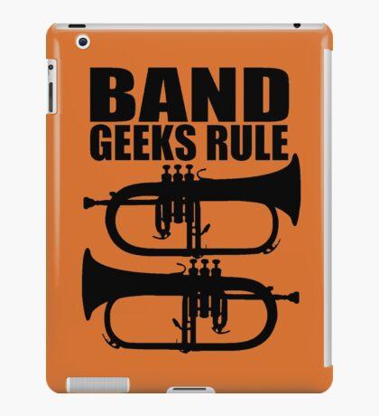 BAND GEEKS RULE-FLUGELHORN 2 iPad Case/Skin