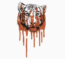 Melting Tiger - White Tiger Fraud (No Text) by jfells