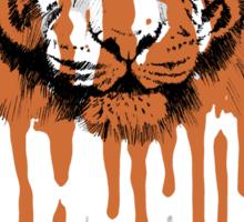 Melting Tiger - White Tiger Fraud (No Text) Sticker