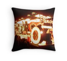 carnival five Throw Pillow