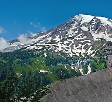 Mt Rainier by EvaMcDermott