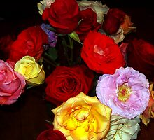 My Roses 5 by Mariam Muradian