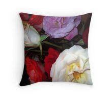 My Roses 6 Throw Pillow