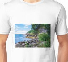 The Beautiful Wild Side of Babbacombe Bay, Devon, England Unisex T-Shirt