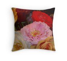 My Roses 7 Throw Pillow