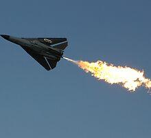F-111 Dump and Burn by Paul Carr