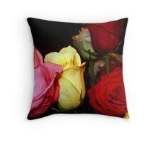 My Roses 8 Throw Pillow