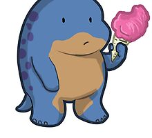 Quaggan looooves Candy by Ashkerdoodles