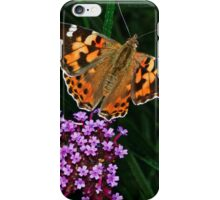 Painted Lady iPhone Case/Skin
