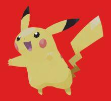 Pikachu Low Poly Kids Clothes