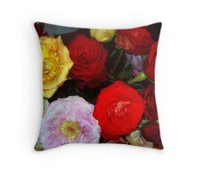 My Roses 9 Throw Pillow