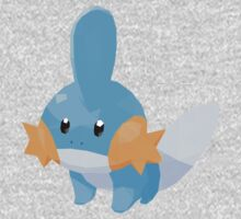 Mudkip Low Poly One Piece - Short Sleeve