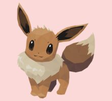 Eevee Low Poly Kids Clothes