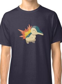 Cyndaquil Low Poly Classic T-Shirt