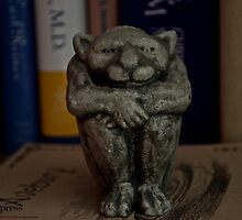 literary gargoyle by petalpress