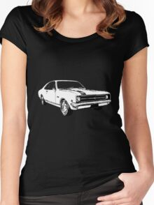Holden HK Monaro GTS 1969 Women's Fitted Scoop T-Shirt