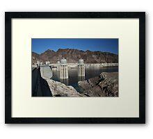 Hoover Dam - Engineering Marvel Framed Print
