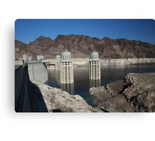 Hoover Dam - Engineering Marvel Canvas Print